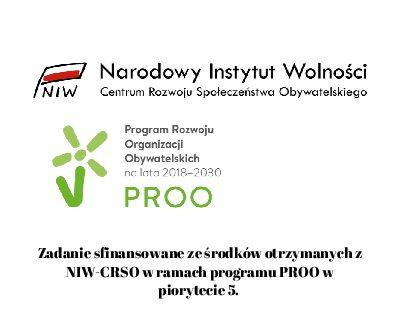 Dofinansowanie w ramach NIW- CRSO